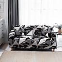 Image of stampa geometrica in marmo copridivano copridivano protettore per mobili morbido divano elasticizzato fodera in spandex tessuto jacquard super adatto per 1 ~ 4 cuscino divano e divano a forma di l,