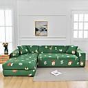Image of motivo natalizio Copridivano 1 pezzo Copridivano protettore per mobili Fodera per divano morbido elasticizzato Tessuto spandex super adatto per divano 1 ~ 4 cuscini e divano a forma di L, facile da