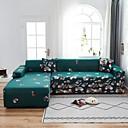 Image of Flora print 1 pezzo copridivano copridivano copridivano protezione per mobili morbido divano elasticizzato fodera in spandex tessuto jacquard super adatto per 1 ~ 4 cuscini divano e divano a forma di