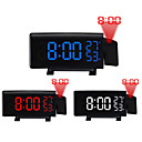 'Ts-5210 Projection Led Alarm Clock New Creative Digital Clock With Radio Snooze And Timer Led Temperature Display Fm Radio And Three Colors