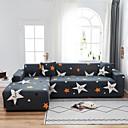 Image of stampa stella 1 pezzo copridivano copridivano protettore per mobili morbido divano elasticizzato fodera in tessuto jacquard spandex super adatto per divano 1 ~ 4 cuscino e divano a forma di l, facile