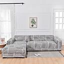 Image of linea stampa 1 pezzo copridivano copridivano copridivano protezione per mobili fodera per divano morbido elasticizzato fodera in spandex tessuto jacquard super adatto per divano 1 ~ 4 cuscini e divano