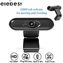 'Usb 2.0 1080p Hd Webcam With Mic Rotatable Pc Desktop Web Camera Cam Mini Computer Webcamera Cam Video Recording Work