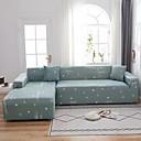 Image of lettera stampa 1 pezzo copridivano copridivano copridivano protettore morbido divano elasticizzato fodera spandex tessuto jacquard super adatto per 1 ~ 4 cuscino divano e divano a forma di l, facile