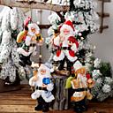 Image of Babbo Natale in resina bambola pendente in piedi postura bambola bambola decorazione