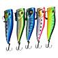 1 pcs Hard Bait / Popper Others g Ounce mm inch,Hard Plastic Sea Fishing / Freshwater Fishing 4611
