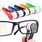 Mini Microfiber Glasses Cleaner Eyeglasses Cleaner Cleaning Clip Soft Brush Cleaning Tool Portable 4611