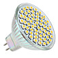 MR16 4W 60 3528 SMD White Light LEDs Spotlight 12V