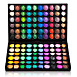 120 Colors Professional Dazzling MatteShimmer 3in1 Eyeshadow Makeup Cosmetic Palette 83373