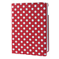 360°Rotating Round Dots Pattern PU Full Body Case with Stand for iPad Air (Assorted Colors) 4611