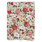 Charming Rose Pattern Textile Hard Case for iPad Air 4611
