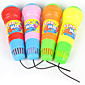 Kids Toy Pretend Play Sound Plastic Vibrate Kid's Microphone 4611
