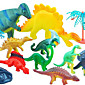 11 Pack Dinosaurs Model Suit Action Figures Toy 4611