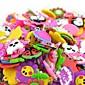 20pcs DIY Twistz Silicone Bandz Rubber Bands Bracelets Pendants Ornaments Rainbow Loom Style for Kids 4611