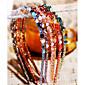 multicolores de la mode cristal irrégulier décoration bandeaux (1 pc) (plus de couleurs) 4617