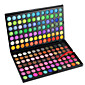 168 Eyeshadow Palette Dry / Matte / Shimmer / Mineral Eyeshadow palette Powder Large Daily Makeup / Party Makeup Professional Cosmetic Rectangle Box 4611
