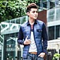 Men's Upset Long Sleeve ShirtOuterwear 4611