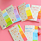 Colorful Simple Self-Stick Notes Pcs 4611