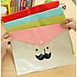 Cartoon Beard Transparent Waterproof Folder 4611