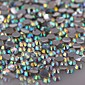 1440PCS Colorful Flatback Crystal Clear AB Iron On Rhinestone Gems 3mm Handmade DIY Craft Material 4611