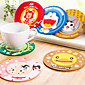 Creative Cartoon Pattern Insulating Cup Mat 4611