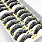 10 Pairs High Quality Natural Long Black False Eyelashes Handmade Full Bushy Lashes Makeup Eyelashes Extensions 4611