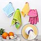 Designed Self-adhesive Cloth Holder Towel Hook Kitchen (Random Color) 4611