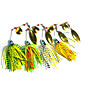 4 pcs Hengjia Metal Spinner Baits 17.4g  Floating Fishing Lures 4611
