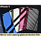 Mirror color plating anti explosion glass protection film (front and back) for iPhone 6S/6 4611