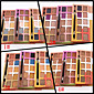 10 Colors European Eyeshadow Palette Naked Nude Eye Shadow Glittery Shimmer Make-up Set(Assorted Color) 4611