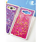 Fun Glitter Star Liquid Back Quicksand Transparent Clear PC Hard Cover For Samsung Galaxy J5 4611
