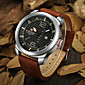 Men NAVIFORCE watch Quartz Waterproof Sports Watch Calendar Genuine Leather Wristwatch(Assorted Color) Wrist Watch Cool Watch Unique Watch 4611