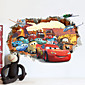 Cars Poqiang Children's Room Bedroom Backdrop Stickers 4611