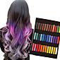 36 Color Temporary Chalk Crayons for Hair Non-toxic Hair Dye Pastels Stick DIY Styling Tools 4611