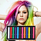 12 Color Temporary Chalk Crayons for Hair Non-toxic Hair Dye Pastels Stick DIY Styling Tools 4611