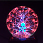 Magic Glass Plasma Ball Sphere Skull 4-Inch Electronic Magic Ball Creative Crafts Ornaments Birthday Gift for Kids 4611