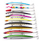 Lot 5pcs 18cm/26g 0.5-1.5m Super Big Minnow Sea Fishing Lures for Big Fish 4611