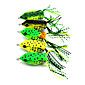 5pcs Hengjia New Frog lures PVC box Package 60mm 12g Fishing Lure Rondom Colors 4611