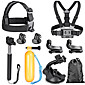 Accessories For GoPro,Monopod Tripod Screw Buoy Suction Cup Straps Mount/HolderFor-Action Camera,Xiaomi Camera Gopro Hero1 Gopro Hero 2 4611