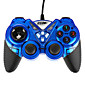 USB-908 Double Shock Controller Blue 4611