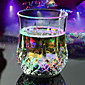 RGB LED Magic Inductive Color Changing Cup for KTV Party Decoration Pineapple Mug Whisky Beer Cup 4611