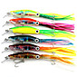 14cm 42g/Pcs Squid Skirts Lure Trolling Hard Artificial Fishing Bait Squid Jigs Lures 1PC 4611