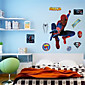 Spider-Man Wall Stickers Environmental DIY Superhero Kids Bedroom Plane Wall Decals Wall Art 4611