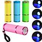 Mini LED UV Lamp  Professional Led Lamp Gel Polish Nail Dryer LED Flashlight 10s Fast Cure For Nail Gel 4611