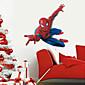 Superhero Spider-Man Wall Stickers Cartoon Children's Room Bedroom Wall Art PVC Wall Decals 4611