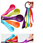Colorful 5PCS Kitchen Measuring Spoons Measuring Cups Spoon Cup Baking Utensil Set Kit Measuring Tools 4611