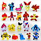 Pocket Little Monster 24pcs Action Figures Cute Monster Mini Figures Toys Best ChristmasBirthday Gifts Brinquedos 3cm 4611