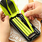 Travel Folding Portable Tableware Suit Combinations Spoon Fork Chopsticks Three-piece 78g 4611