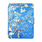 For New Kindle Reader Smart Ebook  Cases Colorful Painted Leather Case Flip Cover Multocolor 4611