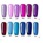 Fashing Purple color Blue color UVLED Lamp Gel Polish Color Gel Nail Gel Nail Polish 4611